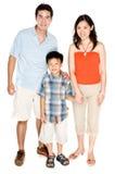 Giovane famiglia insieme immagine stock