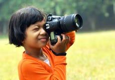 Giovane fotografo 02 Immagini Stock Libere da Diritti