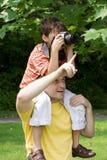 Giovane fotografo Immagini Stock Libere da Diritti