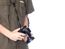 Giovane fotografo Fotografie Stock Libere da Diritti