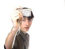 Giovane fotografo Fotografie Stock