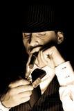 Giovane gangster Fotografie Stock Libere da Diritti