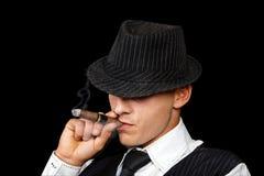 Giovane gangster Fotografia Stock