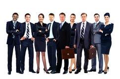 Giovane gente di affari attraente Fotografia Stock