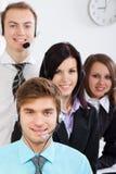 Giovane gente di affari in ufficio Immagine Stock