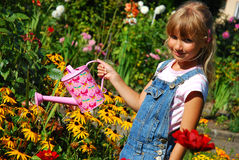 Giovane giardiniere Fotografie Stock Libere da Diritti