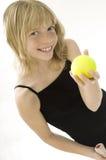 Giovane giocatore di tennis Immagini Stock Libere da Diritti