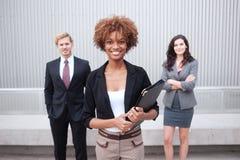 Giovane gruppo di affari all'ufficio Fotografia Stock Libera da Diritti