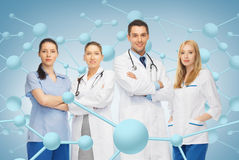 Giovane gruppo o gruppo di medici Fotografia Stock Libera da Diritti