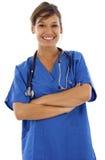 Giovane infermiera del confidet Immagine Stock