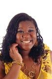 Giovane infermiera dell'afroamericano fotografia stock