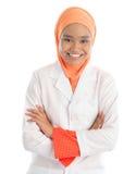 Giovane infermiere femminile musulmano Immagine Stock Libera da Diritti
