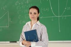 Giovane insegnante Fotografia Stock