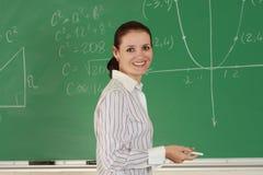 Giovane insegnante Immagini Stock Libere da Diritti
