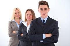 Giovane leader della squadra sensibile Fotografie Stock
