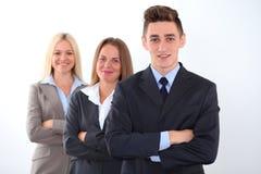 Giovane leader della squadra sensibile Immagine Stock Libera da Diritti