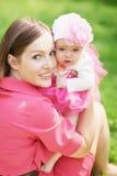 Giovane madre con il bambino immagine stock