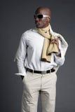 Giovane maschio dell'afroamericano Immagine Stock