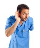 Giovane medico bello immagini stock libere da diritti