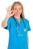 Giovane medico femminile Immagine Stock Libera da Diritti