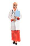 Giovane medico femminile musulmano dell'ente completo Fotografie Stock