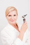 Giovane medico femminile professionista Fotografia Stock