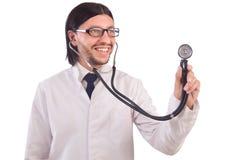 Giovane medico maschio isolato Immagine Stock Libera da Diritti