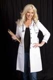 Giovane medico ospedaliero femminile Immagine Stock