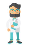 Giovane medico residente attraente Fotografie Stock