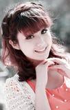 Giovane modello asiatico Fotografia Stock