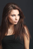 Giovane modello di modo attraente Fotografia Stock