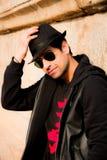 Giovane modello maschio, modello indiano Fotografia Stock
