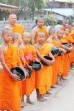 Giovane monaco che è ordinated fotografia stock libera da diritti