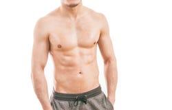 Giovane muscolare Fotografia Stock Libera da Diritti