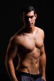 Giovane muscolare in buona salute Immagini Stock