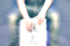 Giovane musica-szene Fotografia Stock