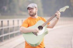 Giovane musicista immagine stock libera da diritti