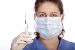 Giovane operaio medico Fotografia Stock