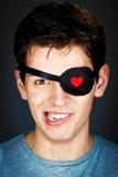 Giovane pirata attraente Fotografie Stock