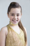 Giovane posa del ballerino Fotografie Stock