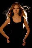 Giovane ragazza attraente Immagine Stock