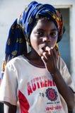 Giovane ragazza del Mozambico Fotografia Stock