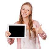 Giovane ragazza dell'allievo di bellezza con il ridurre in pani Fotografie Stock Libere da Diritti