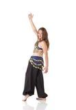 Giovane ragazza di dancing della pancia Immagine Stock