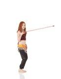 Giovane ragazza di dancing della pancia Fotografia Stock