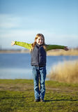 Giovane ragazza felice Fotografia Stock Libera da Diritti