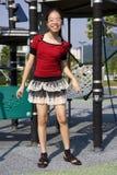 Giovane ragazza felice Fotografie Stock Libere da Diritti
