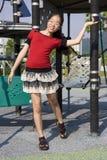 Giovane ragazza felice Immagini Stock