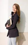 Giovane ragazza felice dell'allievo. Immagine Stock Libera da Diritti