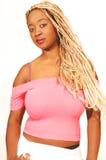 Giovane ragazza giamaicana. Fotografia Stock